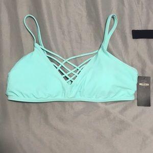 large hollister bikini top